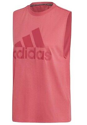 £12.99 • Buy New Adidas Workout Vest Tank Top - Ladies Womens Gym Training Fitness - Pink