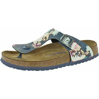 Papillio By Birkenstock Womens Gizeh PAP Flat Footbed Sandals Shoes BHFO 4523 • 34.75£