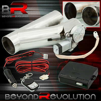 $ CDN109.51 • Buy 2.5'' Electric Exhaust Catback Downpipe Cutout E-Cut Out Valve System +Control
