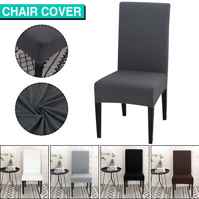 AU3.29 • Buy 1-8 PCS Dining Chair Covers Spandex Cover Stretch Washable Wedding Banquet Party