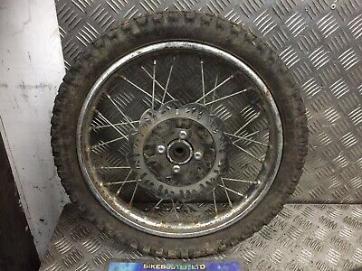 £30 • Buy Motorcycle 14  Spoked Wired Front Wheel & Disc