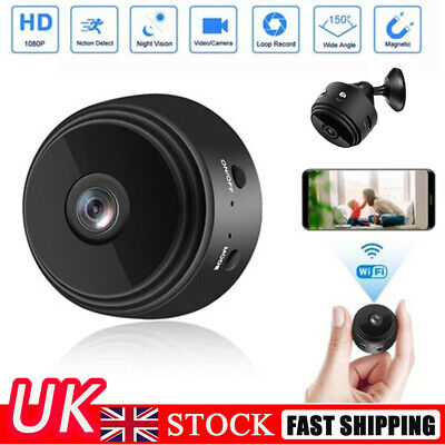 £10.89 • Buy Mini 1080P Wireless Wifi Camera IP CCTV HD Night Vision In/Outdoor Home Security