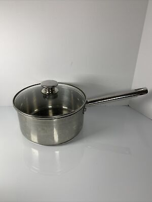 $ CDN24.98 • Buy Wolfgang Puck Bistro 3 Qt. Saucepan With Lid PreOwned GUC