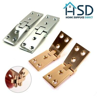 £8.49 • Buy Heavy Duty Solid Brass Chrome Counterflap Catch Hinge Bar/Pub Counter Flap Open