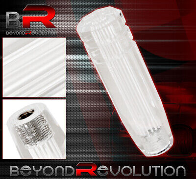 $20.99 • Buy For Mazda 6  M12X1.25 Clear 3D Long Extended Dildo Shift Knob Light Weight White