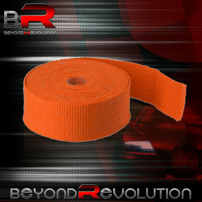 $19.99 • Buy 360  30Ft Exhaust Manifold Header Pipe Heat Orange Wrap Shield Cover Insulation