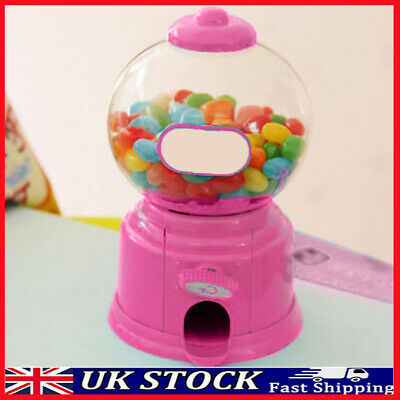 £5.93 • Buy Cute Sweets Mini Candy Machine Bubble Gumball Dispenser Coin Bank Kids Toy Gift