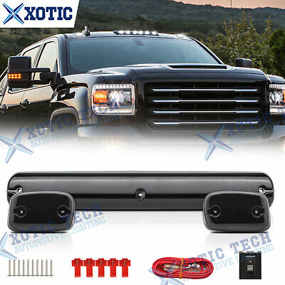 $45.96 • Buy White LED Cab Roof Marker Top Lights 3x For Chevrolet Silverado 1500 2500 3500