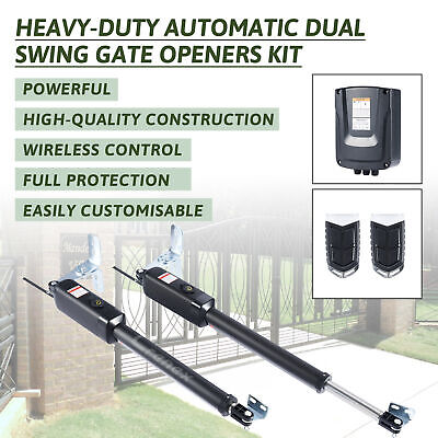 £270.99 • Buy Electric Swing Gate Opener Push/Pull Gate W/ Remote Control Complete Kit 300kg