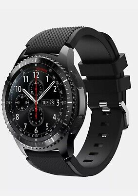 Samsung Galaxy Gear S3 Frontier Smartwatch. Carefully Used. All Accessories-.... • 190£