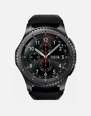 Samsung Galaxy Gear S3 Frontier Smartwatch. Carefully Used. All Accessories.... • 170£