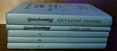 £9.01 • Buy 1950s - Speedwriting Shorthand Dictation Course Century Edition 5 Book A. Shelf
