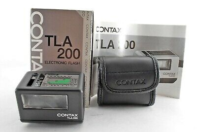 $ CDN399.91 • Buy Contax TLA 200 Black Shoe Mount Flash For G1 G2 [Near Mint In BOX] From Japan