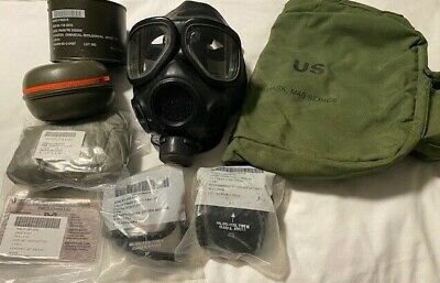 $224.99 • Buy M40 Gas Mask (Small), Filter, Outsert Lenses, Carry Bag Survivial