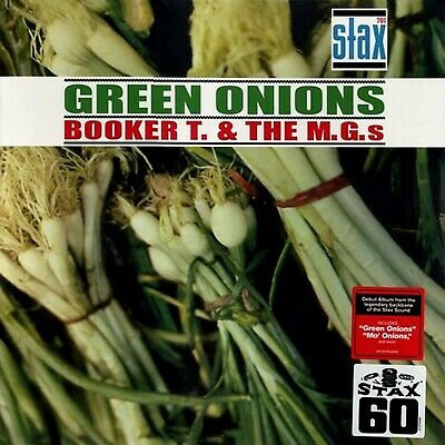 BOOKER T & THE MGs 'GREEN ONIONS' BRAND NEW SEALED RE-ISSUE LP • 19.99£