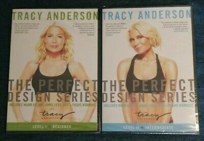 £9.98 • Buy Tracy Anderson Perfect Design - Level 1 Beginners & Level 2 Intermediate DVD