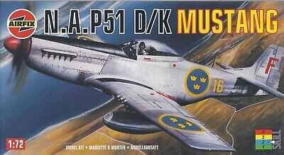 Airfix 02098 P51 D/K Mustang 1:72 Scale (brand New) • 5.99£