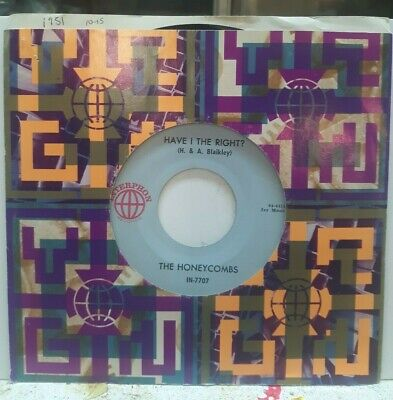 £14.62 • Buy 45 Rpm Rock The Honeycombs, Have I The Right? / Please Don't Pretend Again