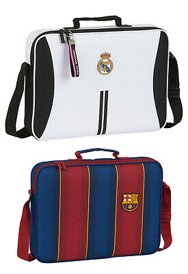 £24.99 • Buy Real Madrid Barcelona FC School Satchel Bag Official Licensed Products