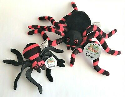 £9.95 • Buy Deagostini My Animal Kingdom Spider Set Sarah And Steven With Tags