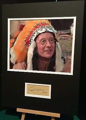 £210 • Buy CHARLES HAWTREY Carry On Cowboy Genuine Authentic Signed 16x12 Display UACC COA