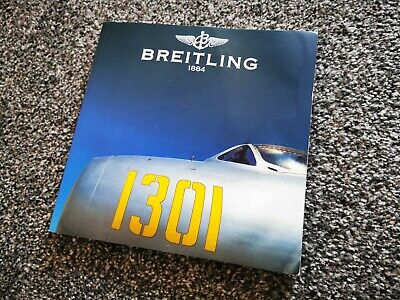 £24.50 • Buy Breitling 1884 Catalogue 1301 Instruments For Professionals Book
