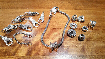 £25 • Buy Authentic (Genuine) Sterling Silver TROLLBEADS. New & Retired #2
