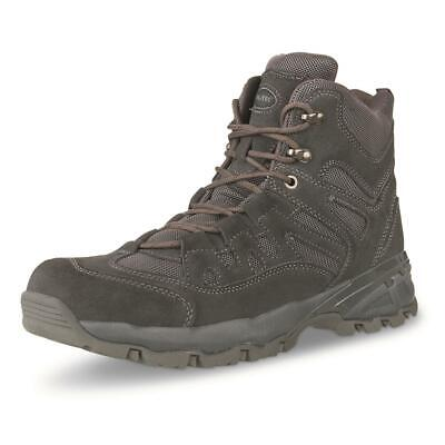 $115.95 • Buy NEW Mil-Tec 5 In Tactical Squad Work Hiking Boots, Black Suede Sizes 7-13