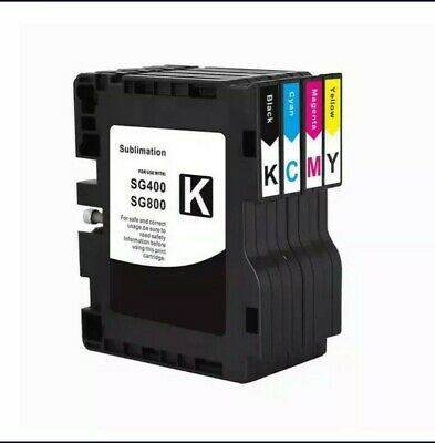 £45.63 • Buy Sublimation Ink Cartridge With Chip Compatible For Ricoh SAWGRASS SG400 SG800 SG
