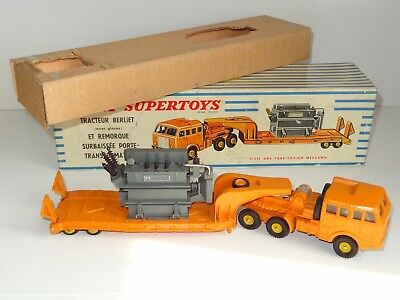 £361.56 • Buy (V) French Dinky BERLIET TRACTOR WITH REMORQUE TRANSFORMER - 898