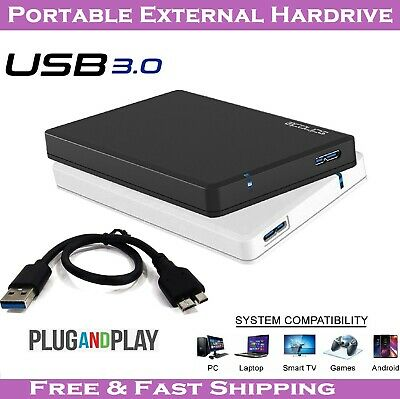 £17.99 • Buy Storite Backup Hard Drive USB 3.0 Portable External HDD For PC PS4 Xbox One UK