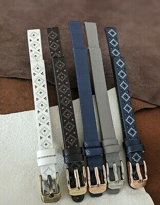 £5.99 • Buy  Kahuna 8mm  High-Quality Faux Leather Replacement Watch Straps Ladies