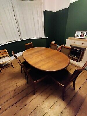 G Plan E Gomme Mid Century Dining Table And Chairs • 50£