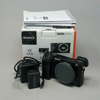 $ CDN476.72 • Buy Sony Alpha A6000 Body Only - Plus Charger & Battery & Box