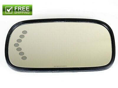 $54.99 • Buy 2006-2008 Buick Lucerne Driver Side Left Auto Dim Mirror Glass With Heat OEM