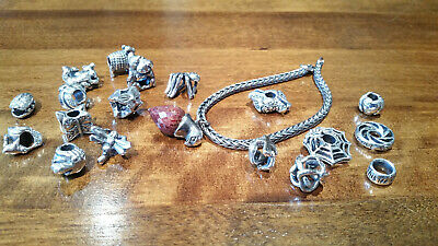 £33 • Buy Authentic (Genuine) Sterling Silver TROLLBEADS. New & Retired #3