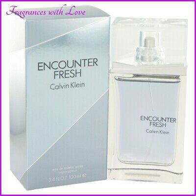 £65.99 • Buy Encounter Fresh Eau De Toilette Spray By Calvin Klein 100ml