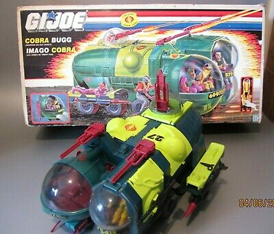 $ CDN475 • Buy Vintage GI Joe Cobra BUGG 88 Vehicles Playsets Hasbro 100% Complete Secto-Viper