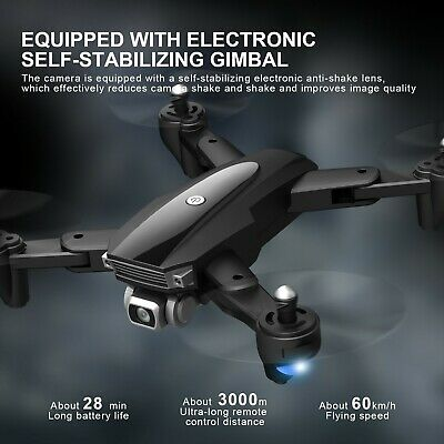 AU169 • Buy 5G WIFI 3KM FPV GPS With 6K HD Camera 2-Axis Gimbal Brushless Foldable RC Drone