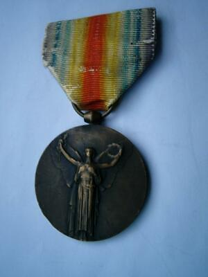 £19.99 • Buy Genuine Great War WWI France Victory Bronze French Medal Military 1914 1918 2A