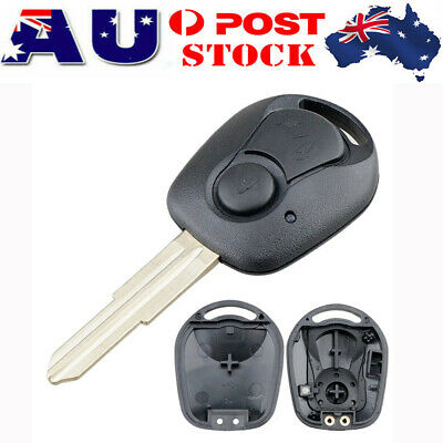 AU12.99 • Buy 2 Button Key Remote Case Shell For SSANGYONG ACTYON KYRON REXTON