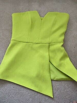 AU20 • Buy Finders Keepers Lime Bustier Size Small