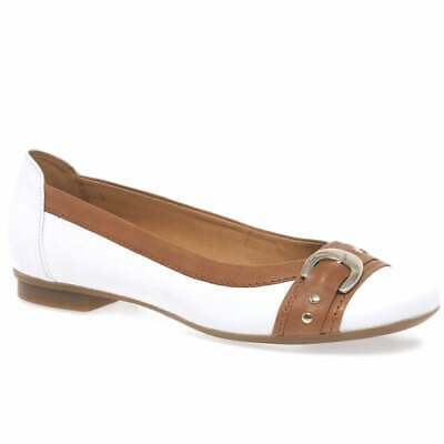 £54.80 • Buy Gabor Indiana Womens Casual Pumps Size 5.5 White/ Tan