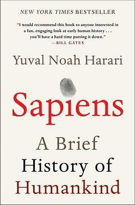 AU23.53 • Buy Sapiens A Brief History Of Humankind Yuval Noah Harari Paperback