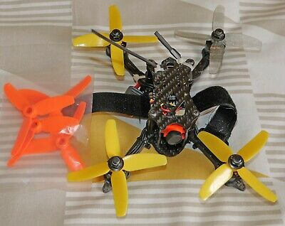 FuriBee X140 FPV Racing Drone With Frsky Rx - Faulty For Spares Or Repairs Only. • 43£