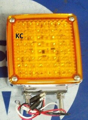 $ CDN84.09 • Buy Kenworth W900 T800 118led Right Turn Signal Double Stud K256-554r Hd50118ryr2
