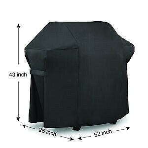 $ CDN43.98 • Buy US Waterproof Outdoor Barbecue BBQ Gas Grill Cover For Weber 7106 220 300 Seri