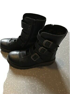 Lovely Fly London Buckle Calf Boots 6  • 60£