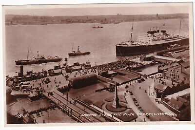 £5 • Buy Landing Stage And River Mersey Liverpool