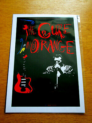 £3.99 • Buy The Cure : In Orange : A4 Glossy Reproduction Poster